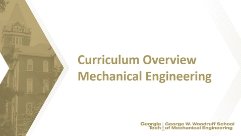 Thumbnail for entry ME Curriculum Overview
