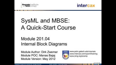Thumbnail for entry SMQS_Module_201.04_Structure_InternalBlockDiagrams