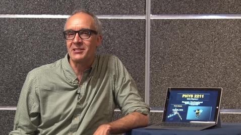 PHYS 2211 - Prof. Michael Schatz