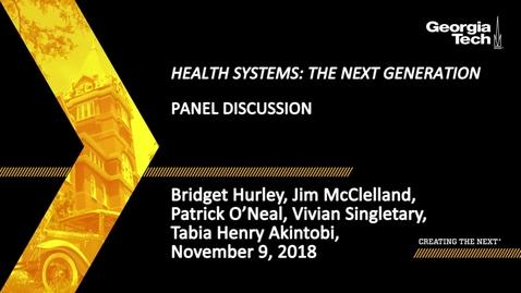 Thumbnail for entry Bridget Hurley, Jim McClelland, Patrick O'Neal, Vivian Singletary, Tabia Henry Akintobi - Panel Discussion