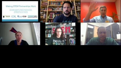 Thumbnail for entry Making STEM Partnerships Work