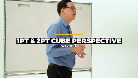 Thumbnail for entry 1Pt 2Pt Cube Perspective