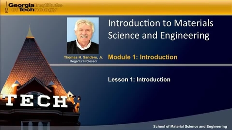 Thumbnail for entry Introduction to Material Behavior