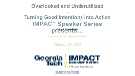 Thumbnail for entry Overlooked and Underutilized: Turning Good Intentions into Actions - Jay Cranman
