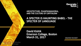 Thumbnail for entry A Specter is Haunting Babel - The Specter of Language - David Kishik