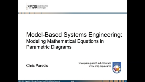 Thumbnail for entry SMQS_Module_101.08a_Parametrics