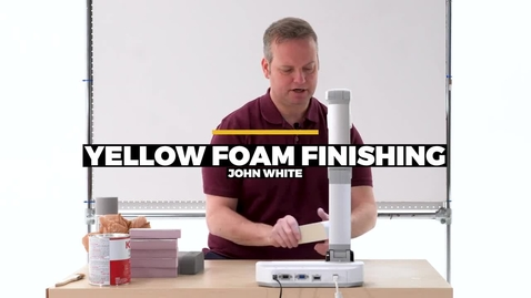 Thumbnail for entry Yellow Foam Finishing