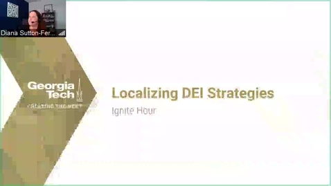 Thumbnail for entry Localizing DEI Strategies