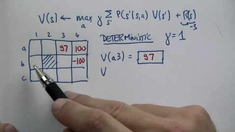 Thumbnail for entry CS6601_10. Planning under Uncertaint_Deterministic Question 2_QUES