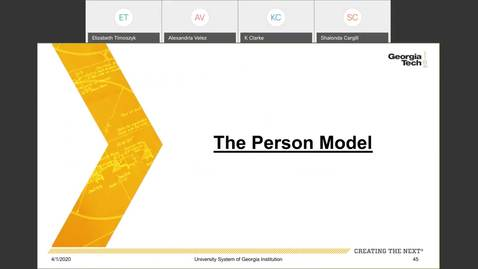 Thumbnail for entry Workforce Administration -- The person model-case study 1: Affiliate hired as a faculty