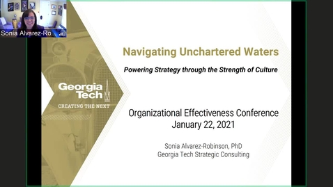 Thumbnail for entry Navigating Uncharted Waters Powering Strategy through Strength of Culture