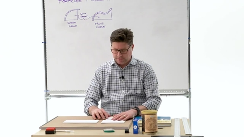 Thumbnail for entry Foam Core Modeling Techniques (Bends)