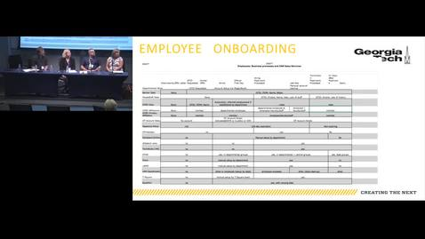 Thumbnail for entry Demistifying Employee Onboarding @ GT -- What Happens When?