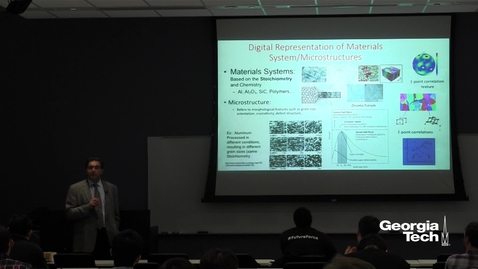 Thumbnail for entry Inverse Microstructure and Processing Design and Homogenization - Hamid Garmestani