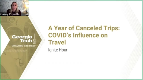 Thumbnail for entry A Year of Cancelled Trips: COVID'S Influence on Travel