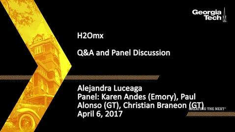 Thumbnail for entry SPAG Media Festival H20mx Discussion - Alejandra Luceaga