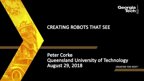 Thumbnail for entry Peter Corke - Creating Robots That See