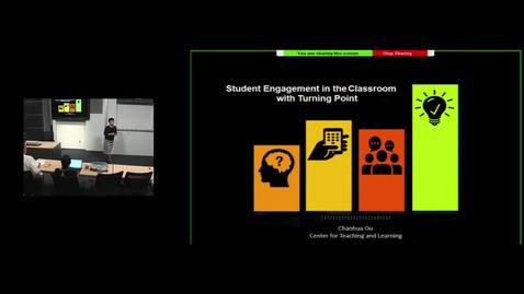 Thumbnail for entry Student Engagement in the Classroom with Turning Point