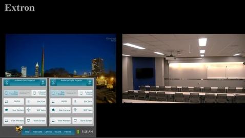 Thumbnail for entry AudioVisual Room Tutorial | IC-115 Initial Walk Through