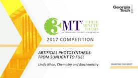 Thumbnail for entry Artificial Photosynthesis: From Sunlight to Fuel - Linda Nhon