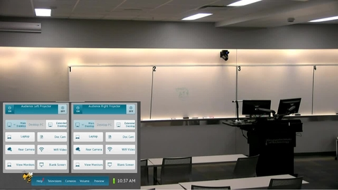 Thumbnail for entry AudioVisual Room Tutorial |  IC 115 (Full)