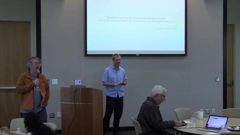 "Thumbnail for entry GVU Center Brown Bag Seminar: Thomas Ploetz ""Machine Learning for Sensor Data Analysis in HCI"""