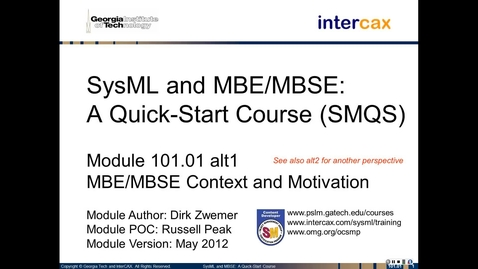 Thumbnail for entry SMQS_Module_101.01_alt1_MBSE_Context_Motivation