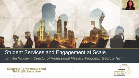 Thumbnail for entry Student Services and Engagement at-Scale
