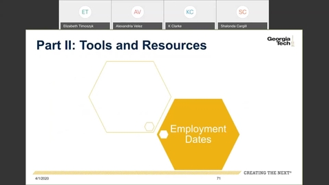 Thumbnail for entry Workforce Administration -- Employment Dates