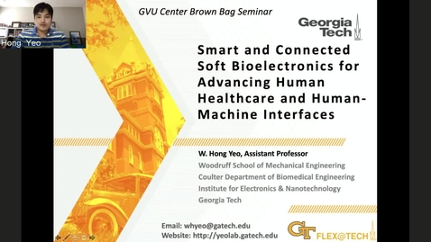 Thumbnail for entry Smart and Connected Soft Bioelectronics for Advancing Human Healthcare and Human-Machine Interfaces