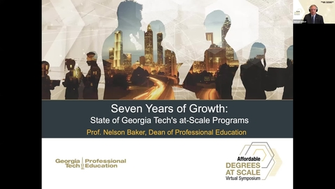 Thumbnail for entry Seven Years of Growth: State of Georgia Tech's at-Scale Programs