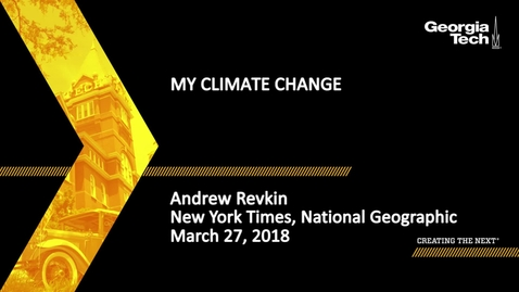 Thumbnail for entry My Climate Change - Andrew Revkin