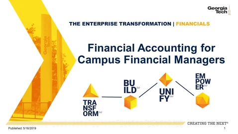 Thumbnail for entry Financial Accounting Part 4