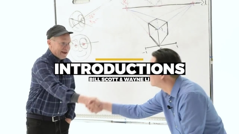 Thumbnail for entry Introductions - Bill Scott And Wayne Li