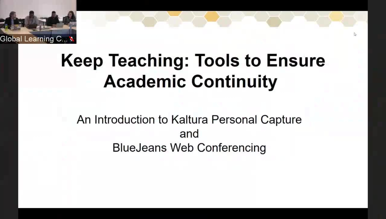 March 12 - Keep Teaching: Tools to Ensure Academic Continuity