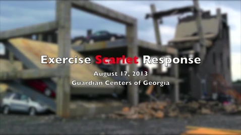 Thumbnail for entry GEMA - Scarlet Response Exercise