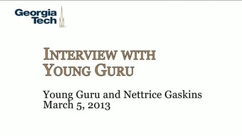Thumbnail for entry Young Guru and Nettrice Gaskins - Young Guru, Nettrice Gaskins