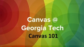 Thumbnail for entry Canvas 101