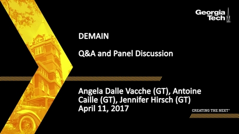 Thumbnail for entry SPAG Media Festival Demain Discussion - Angela Dalle Vacche, Antoine Caille, Jennifer Hirsch