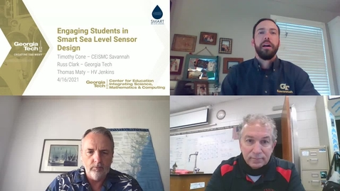 Thumbnail for entry Engaging Students in Smart Sea Level Sensor Design and Assembly