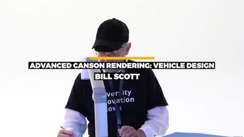 Thumbnail for entry Advanced Canson Rendering- Vehicle Design