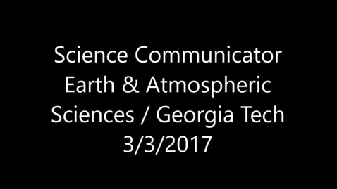 Thumbnail for entry Science Communicator