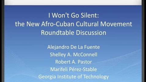 Thumbnail for entry Cuba after Fidel: a Roundtable Discussion