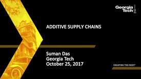 Thumbnail for entry Additive Supply Chains - Suman Das