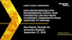Thumbnail for entry Data-Driven Research for Environmental Justice: How Universities Can Help Move Vulnerable Communities from Surviving to Thriving