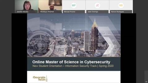 Thumbnail for entry OMS Cyber-Info Sec New Student Orientation 11-25-2019