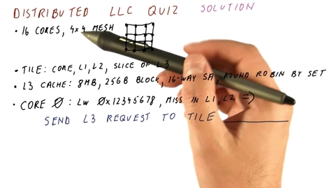 Thumbnail for entry CS6290_Many Core_Distributed LLC Quiz_ANS