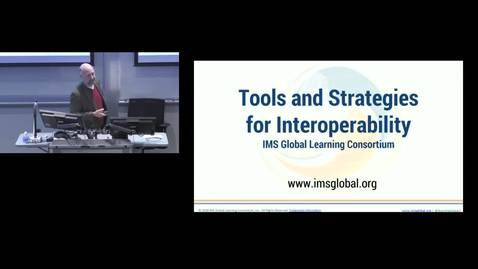 Thumbnail for entry Tools and Strategies for Interoperability