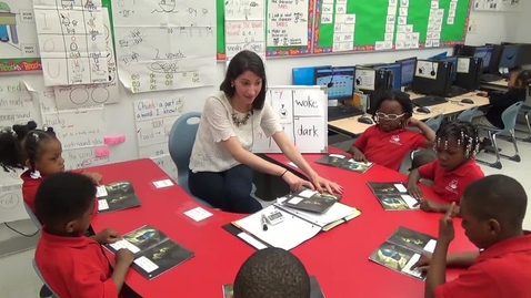 Thumbnail for entry FOI - Guided Reading Video - STEP 4 - Kindergarten