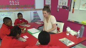 Thumbnail for entry FOI - K-2 Guided Reading - 1st Grade Full Length Lesson- STEP 6 (Ms. Grubbs at AF Endeavor ES)
